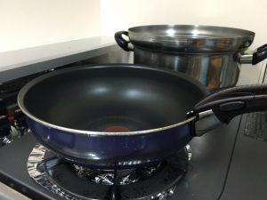 フライパンと鍋