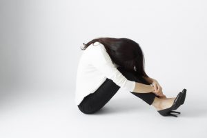 落胆する女性