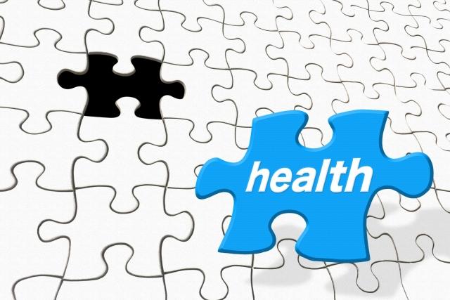 健康のパズルピース