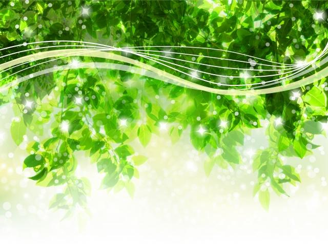 幸せを運ぶ緑