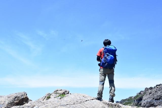 頂上から見える景色