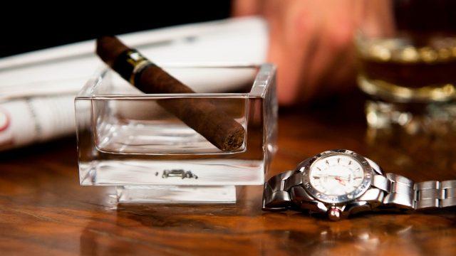 タバコと時間の関係