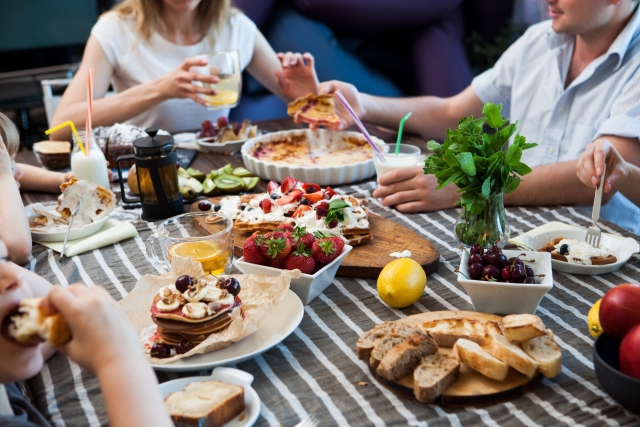 大人数の食事会