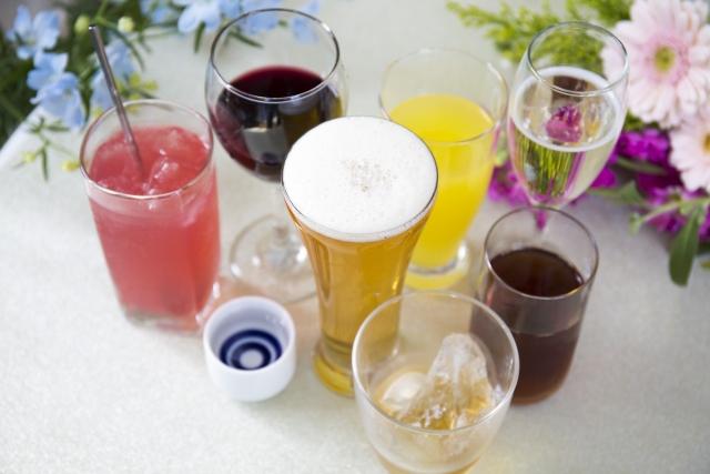 色々な種類のお酒
